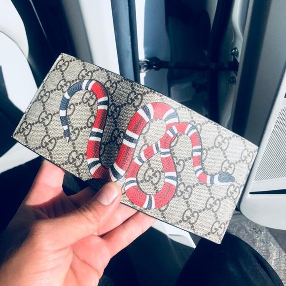 d04778bd70bb Gucci Bags | King Snake Wallet | Poshmark